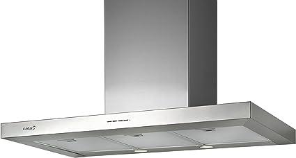 CATA | campana extractora | Modelo SYGMA 900 | 3 velocidades de extracción | campana extractora cocina 850m3/h - 340m3/h | Acabado en acero inoxidable | [Clase de eficiencia energética A]: 199.65: Amazon.es: Grandes electrodomésticos