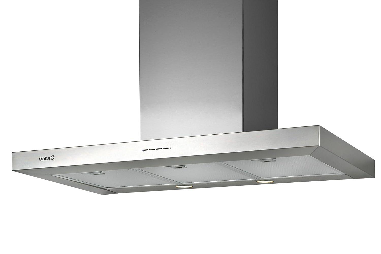 90,0 cm//LED Beleuchtung//edelstahl Cata Sygma VL3 900 Wandhaube