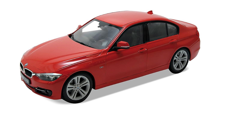Scala 1:18 in Metallo Modellino da Collezione di BMW 335 i Welly 18043 Colore: Rosso