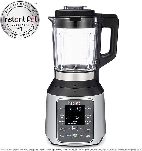 Instant Pot NOVA Ace Plus - Batidora para cocinar y beber, color plateado: Amazon.es: Hogar