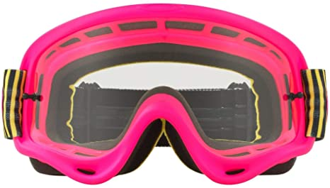 4627ffba28 Image Unavailable. Image not available for. Color  Oakley O Frame MX Adult  Off-Road Motorcycle Goggles ...