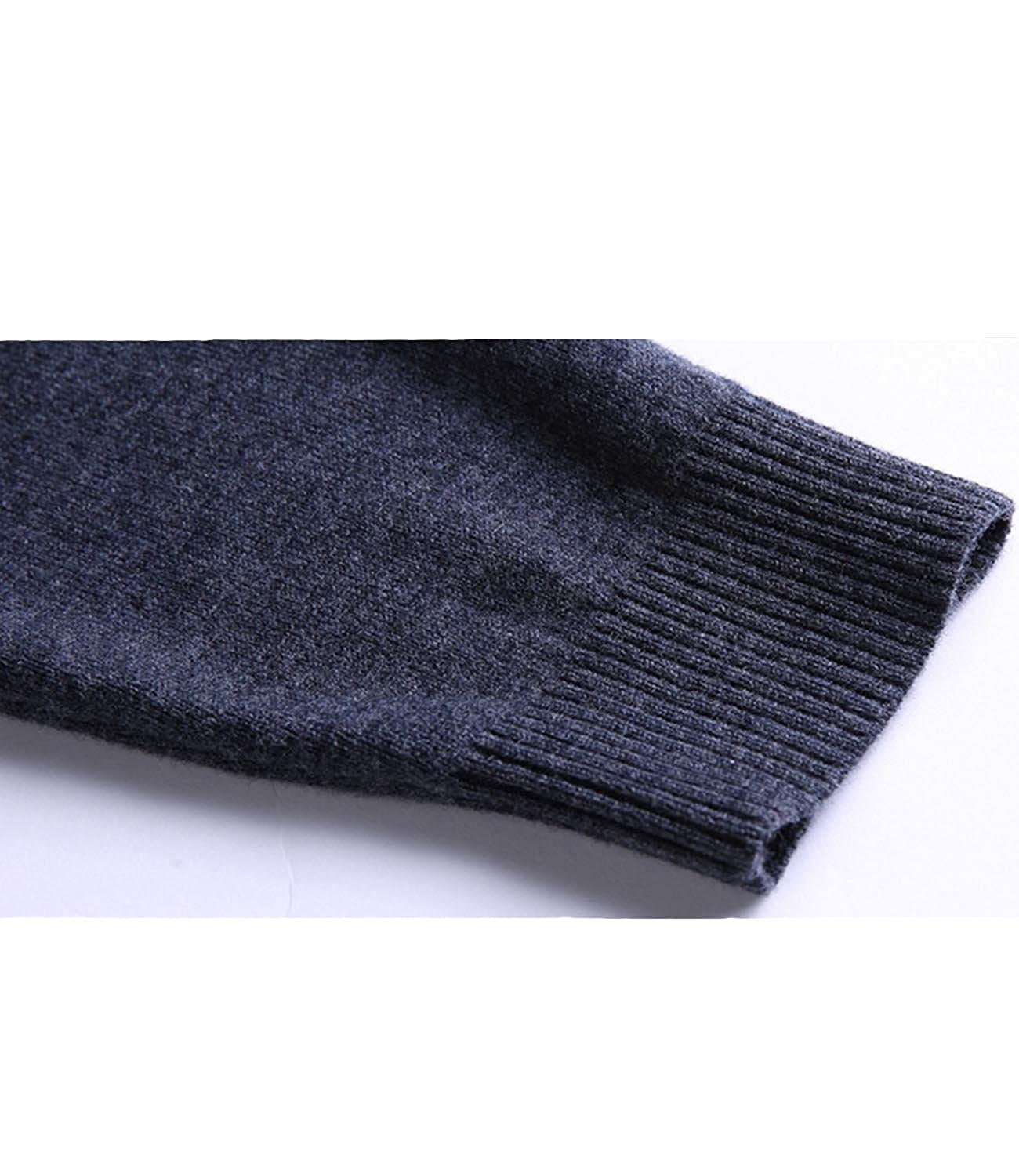 Nidicus Men Slim Fit Knitted Casual Basic Turtleneck Warm Pullover Sweater