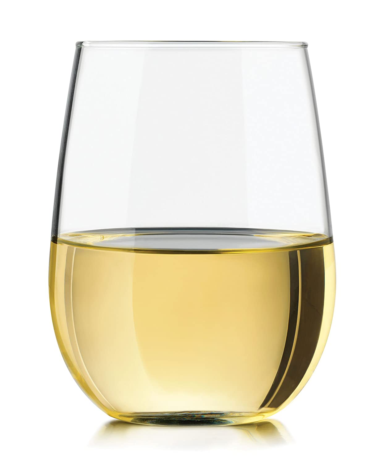 Stemless Wine Glasses By Lumiera – Perfect Wine Glasses for Red Wine or White Wine. Ideal For Gifts – Wedding Gifts, Corporate Gifts or Thank You Gifts