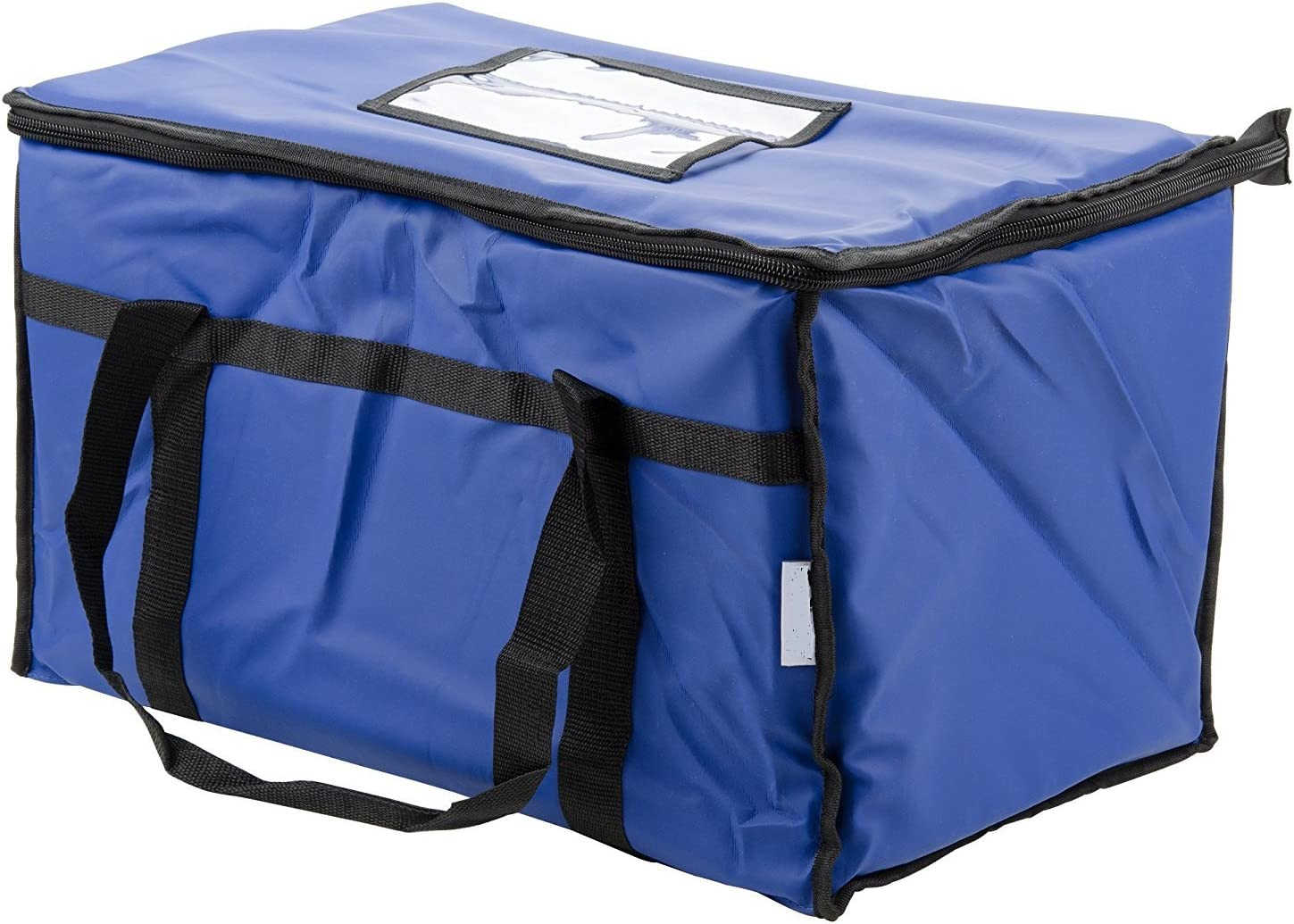 Restaurantlinenstore Insulated Food Delivery Bag Pan Carrier, 23 x 13 x 15-Inches (Blue)