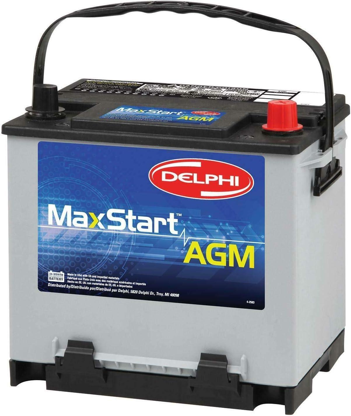 Delphi BU9035 MaxStart AGM Premium Automotive Battery, Group Size 35: Automotive