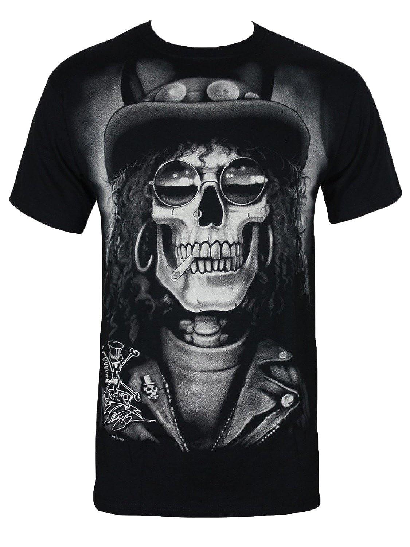 SLASH T-Shirt - Slash Skull (Black)