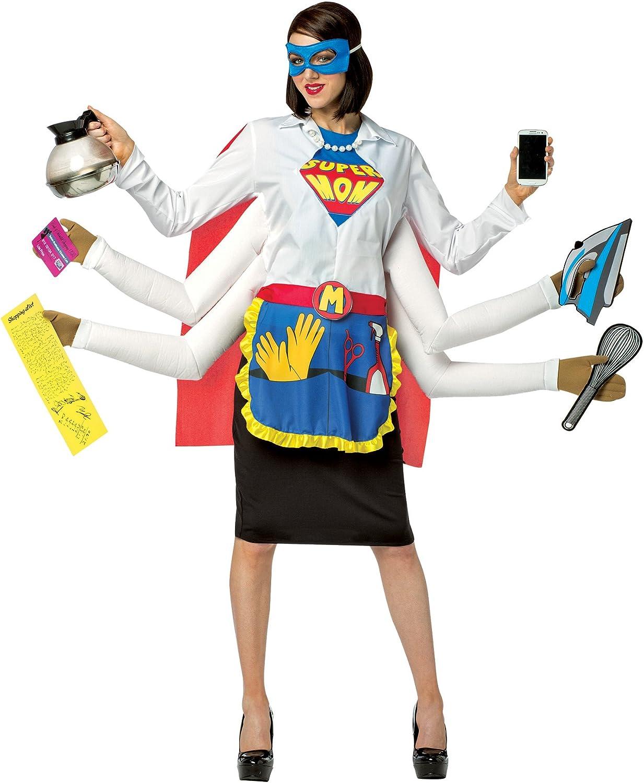Ladies Comic Strip Dress Novelty Fancy Dress Costume Super Hero S-L