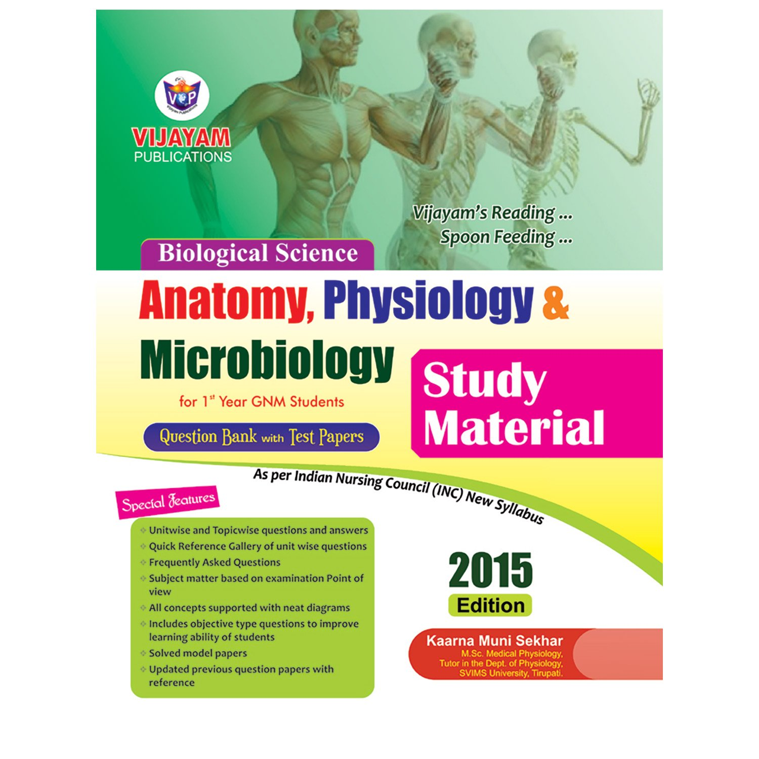 Amazon.in: Buy A Study Material Of Anatomy Physiology Microbiology ...