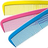 """Jumbo Clown Comb Assorted Colors - Qty 1 (Yellow/ Red/Blue-13"""")"""