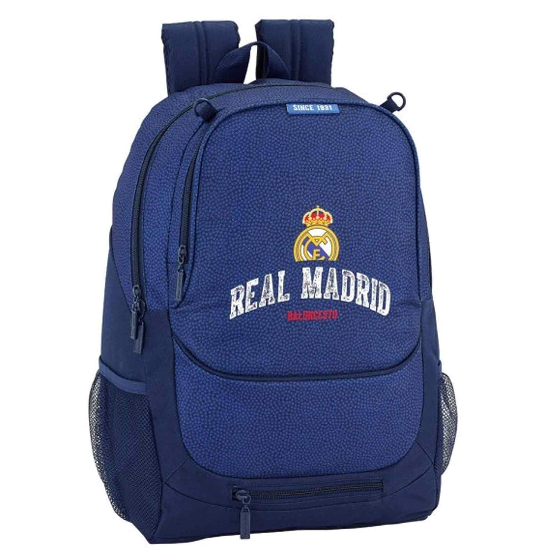 Real Madrid (La Liga) - Mochila con Pelota, diseño del Escudo del ...