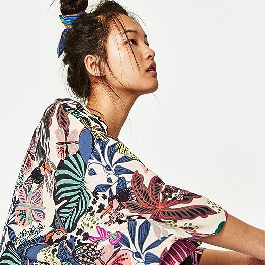Culater Mujeres Tops Cardigan Chal de Gasa Kimono Impresos Encubrir Blusa: Amazon.es: Ropa y accesorios
