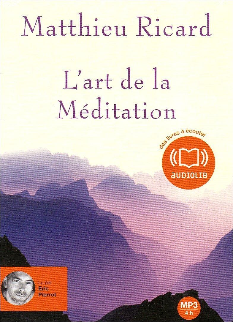 Amazon.fr - L'art de la méditation (z) - Audio livre 1CD MP3 595 Mo -  Matthieu Ricard - Livres
