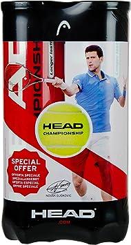 Head Championship 2 x 4er Dose Bi Pack Pelotas de Tenis 8 Bolas ...