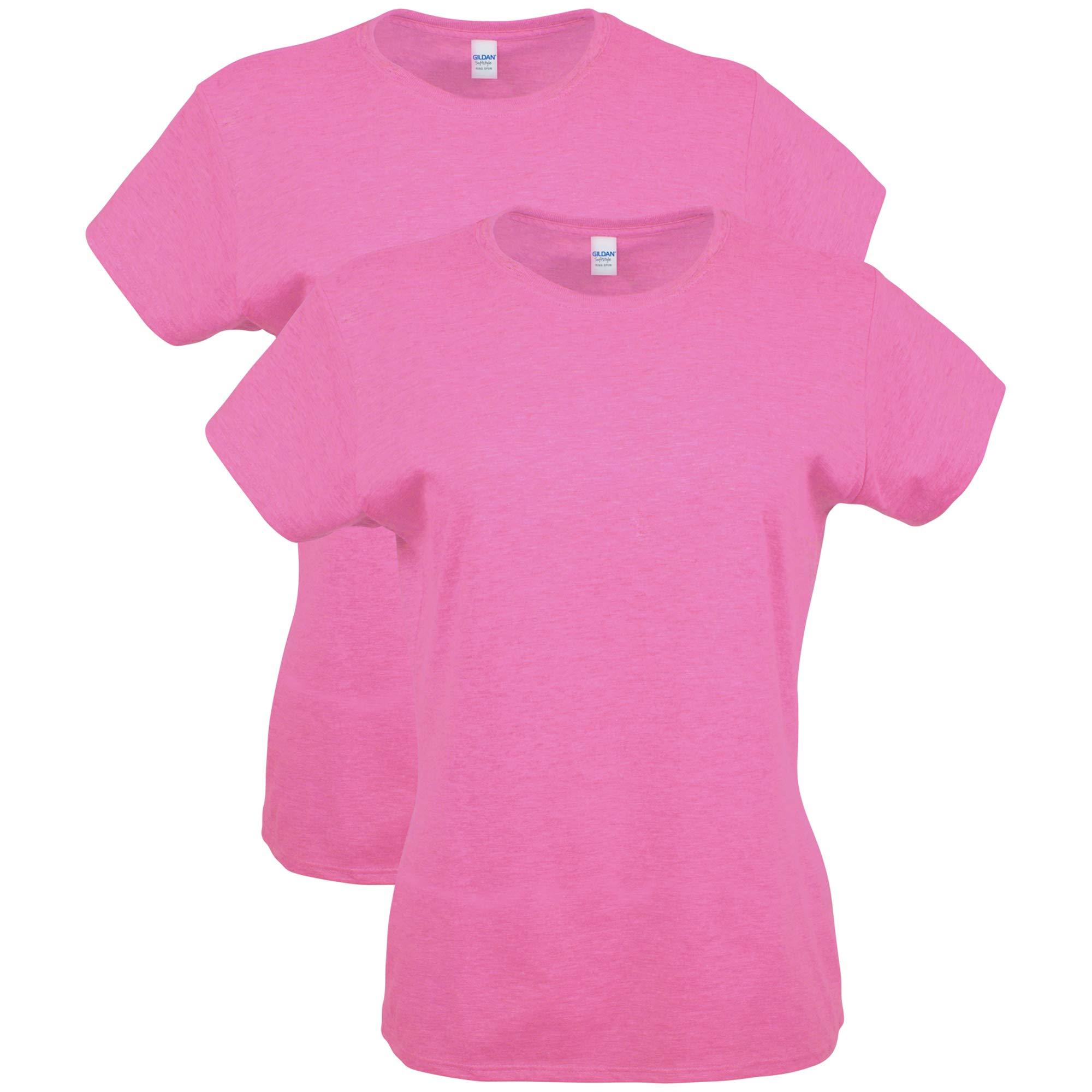 Gildan Women's Softstyle Cotton T-Shirt 2-Pack