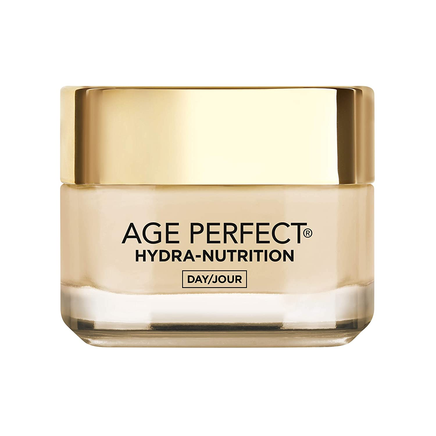 L'Oreal Paris Age Perfect Hydra-Nutrition Day Face Cream Moisturizer, with Calcium + Precious Oils, Very Dry Skin, Anti-Aging, 50 ML L'Oreal Paris L'O-8448