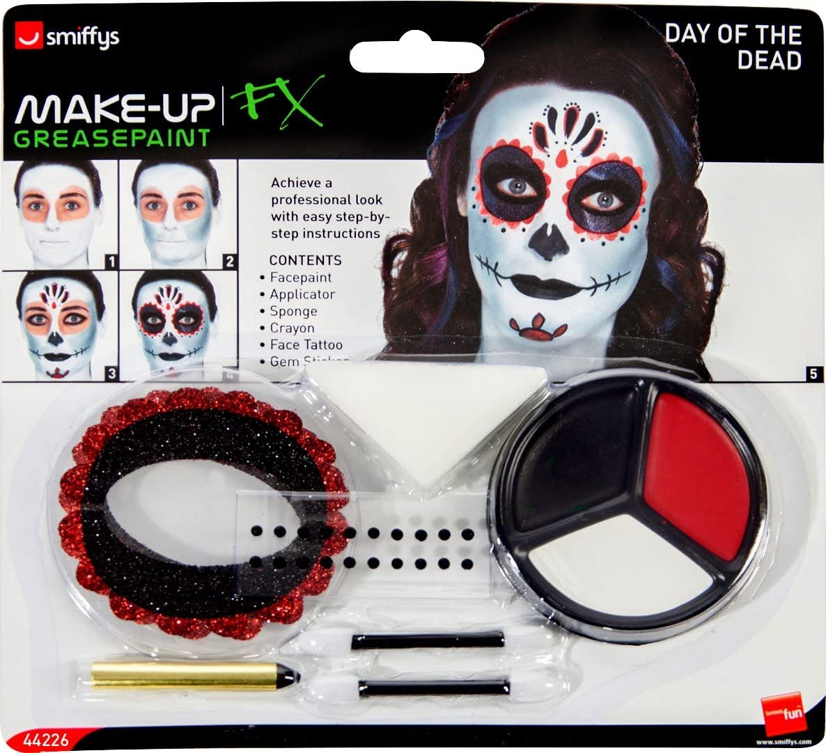 SMIFFYS FX Make Up Sponges X 3 Fancy Dress Face Painting New