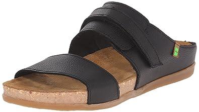 Womens El Naturalista Zumaia Nf43 Sandals Black NYJ59593