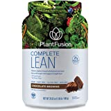 PlantFusion Complete Lean Plant Based Weight Loss Protein Powder | Supports Blood Sugar, Controls Appetite | Superfoods with Digestive Enzymes | Gluten Free, Vegan, Non-GMO, Chocolate Brownie, 1.85 LB