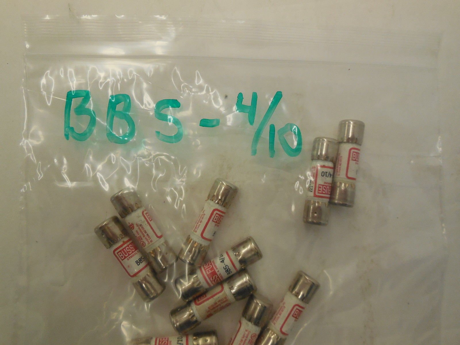 10 NEW FUSETRON BBS-4/10 FUSES BBS410 by Generic (Image #1)