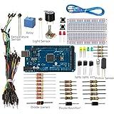 SunFounder Project Universal Starter Kit V2.0 with Mega 2560 For Arduino UNO R3 Mega2560 Mega328 Nano - Including 36 Page Instructions Book
