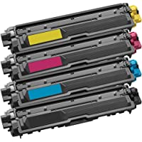 1 Set of 4 Inkfirst Toner Cartridges Compatible Remanufactured for Brother TN221 TN225 Black, Cyan, Magenta, Yellow MFC-9340CDW HL-3170CDW HL-3170CW HL-3140CW MFC-9130CW MFC-9330CDW TN221BK TN225C TN225M TN225Y