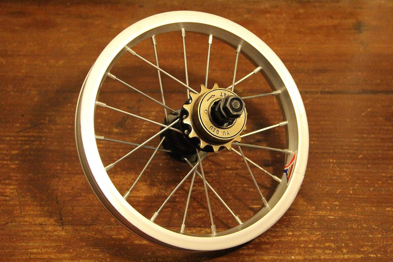 Bicycle Bike  Scooter Rear Wheel 12/'/' X 1.5//1.75/'/' 14T Freewheel Aluminum Iron