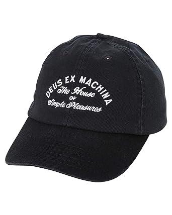 Deus Ex Machina - Gorra de béisbol - para Hombre Negro Negro ...