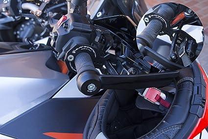 Antirrobo para el casco y moto XL Custom negro con Abus candado: Amazon.es: Coche y moto