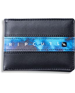 RIP CURL Word Boss PU Slim Monedero, Hombre: Amazon.es: Equipaje