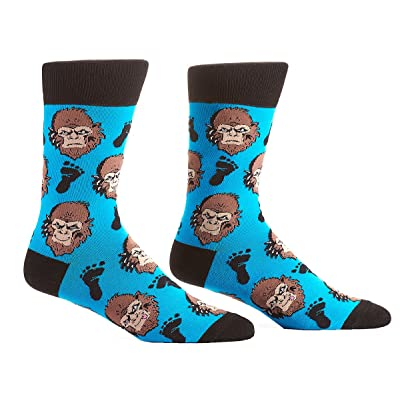 Yo Sox Men's Novelty Crew Socks - Bigfoot Gorilla