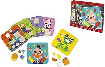Janod - Aprendo las formas (Juratoys J08028) , color/modelo surtido: Amazon.es: Juguetes y juegos