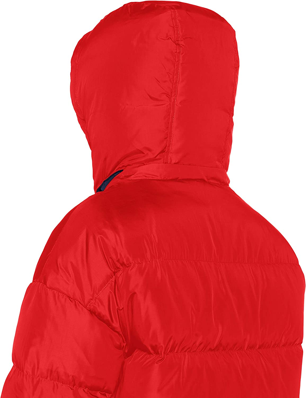 Levi's Martina Puffer Chaqueta para Mujer Rojo (Chinese Red 0002)