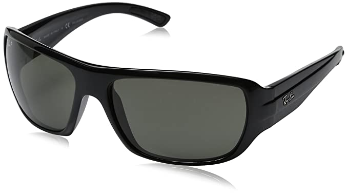 Ray-Ban Gafas de sol Carey MOD. 4150 SOLE 601/58 64: Amazon ...