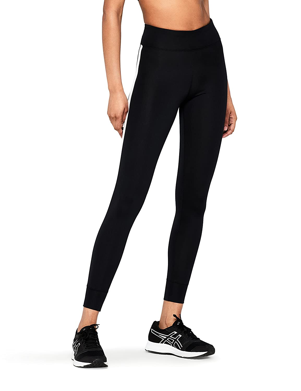 AURIQUE Damen Sportleggings mit Seitenstreifen BAL1006