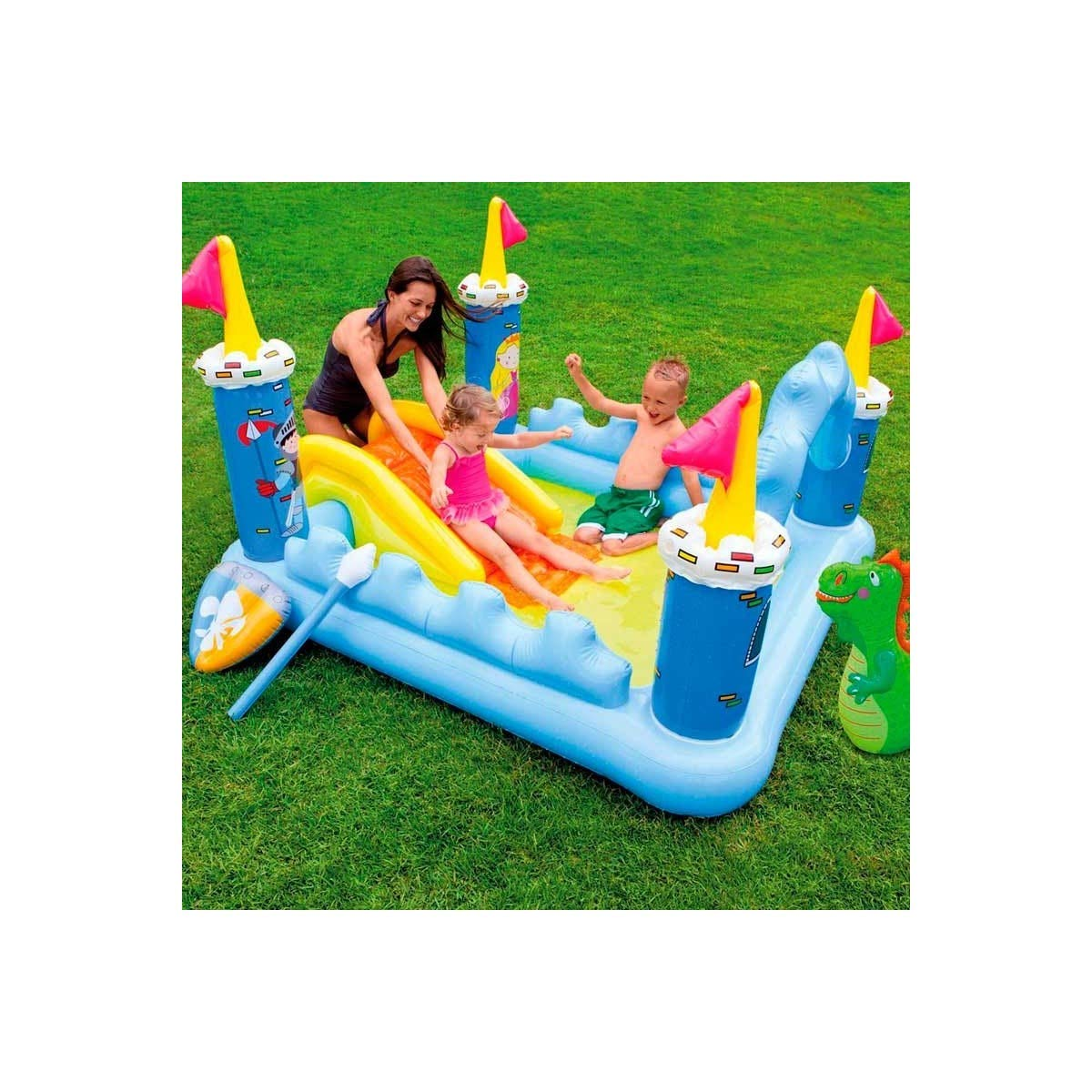 Intex Castillo Hinchable: Amazon.es: Deportes y aire libre