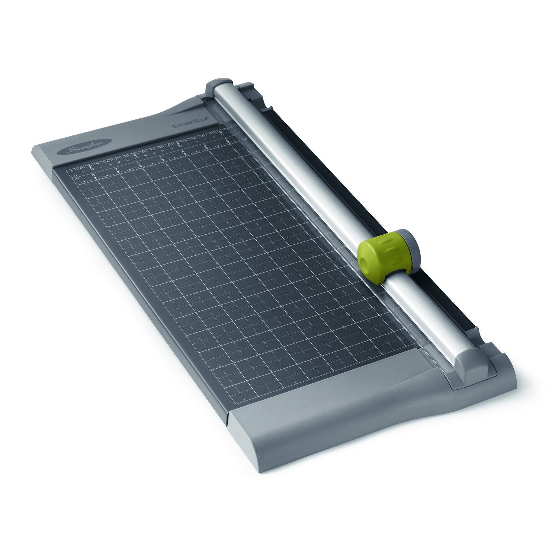 Swingline 9512 SmartCut Pro Metal 10-Sheet Rotary Trimmer, Metal Base, 10 1/4 x 17 1/4 ACCO Brands