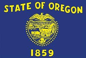 Toland Home Garden Oregon State Flag 12.5 x 18 Inch Decorative USA Garden Flag