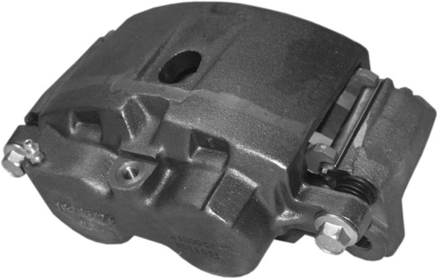 ACDelco 18FR1370 Professional Front Passenger Side Disc Brake Caliper Assembly without Pads Friction Ready Non-Coated Remanufactured