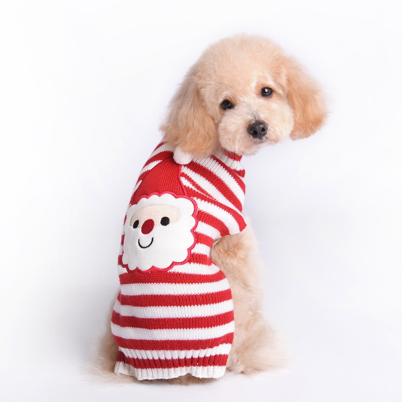 Menpet Pet Holiday Christmas Santa Claus Dog Sweater by Menpet MPT-0101-S