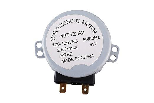 Motor giratorio RMOTDA252WRZZZ para microondas compatible ...