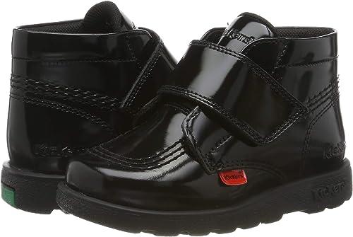 Noir 27 EU Black Blk Bottes Classiques Fille Kickers Fragma Hi Shine Stra
