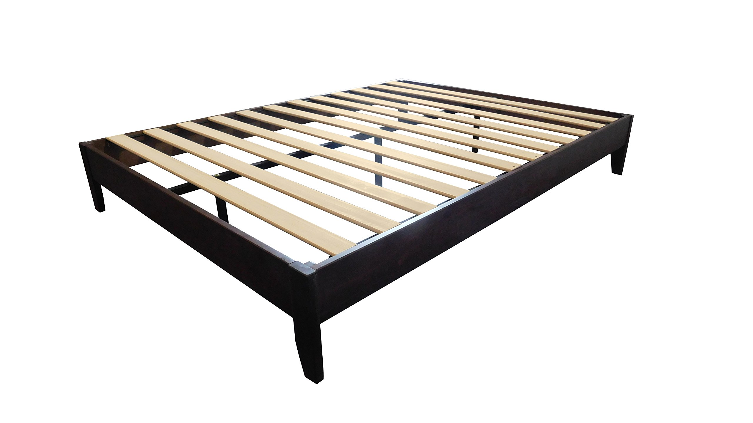 Target Marketing Systems 88590ESP Devin Queen Wood Platform Bed, Espresso by Target Marketing Systems