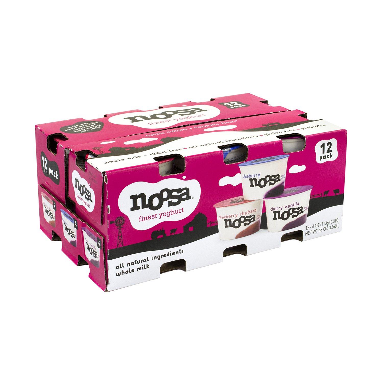 Noosa Finest Yoghurt, 4 oz, 12 Count