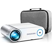 Mini Projector, GooDee G500 HD Video Projector 3800 Lux with 50,000 Hrs, 200 inch Home Theater Movie Projector, 1080P…