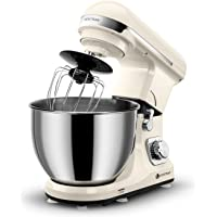 Ventray MK37 Professional Grade 4.5-Quart 6-Speed Stand Mixer with Pouring Shield