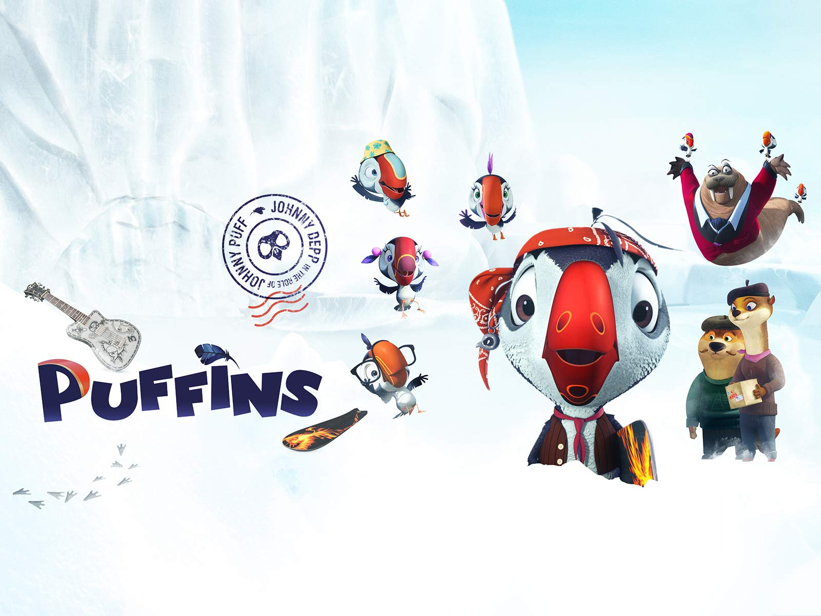 Clip: Puffins on Amazon Prime Video UK