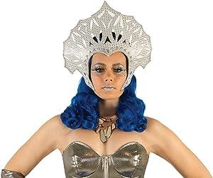 Forum Novelties, Women's Futuristic Headpiece, Silver, Standard
