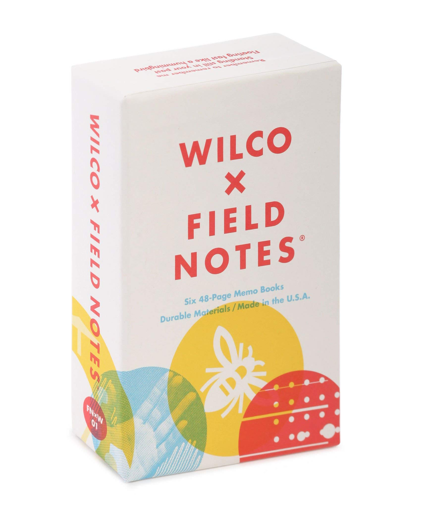 Field Notes: Wilco - 6 Pack - Dot-Graph Memo Books, 3.5 x 5.5 Inch by Field Notes