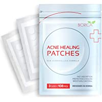 Invisible Acne Patch, Pimple Healing. Hydrocolloid Acne Spot Treatment, Sticker with Absorbing Cover for Healing Acne…