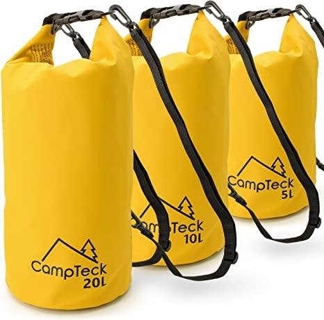 2//5L Waterproof Bag Storage Dry Sack Pouch For Canoe Floating Boating Kayaking